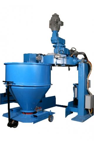 Mezclador de contenedores Reliance Mixers | Polimaq