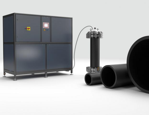 Prueba de presión de explosión y alta capacidad HCP Sciteq | Polimaq