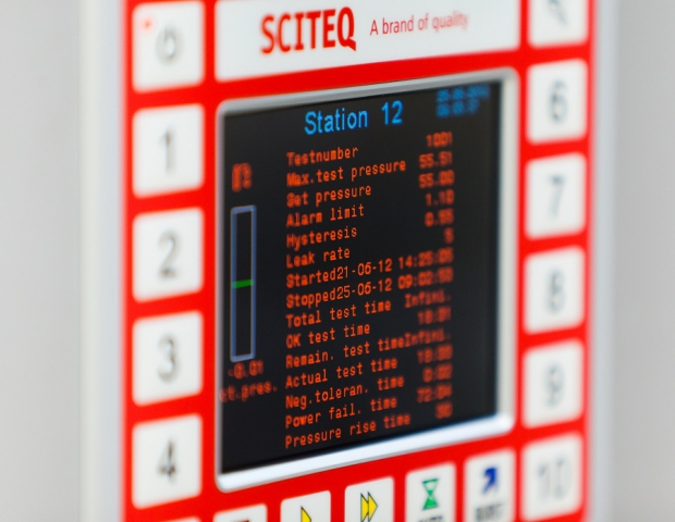 Prueba de presion modular XACT Sciteq | Polimaq