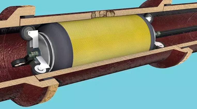 Reparación de tubería seccional Trelleborg | Polimaq