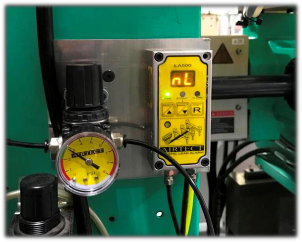 Detector de fugas de plástico Airtect   Polimaq